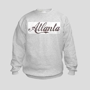 Vintage Atlanta Kids Sweatshirt