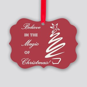 BELIEVE IN... Picture Ornament