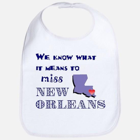 I Miss New Orleans Bib