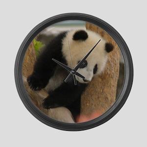 Giant Panda Large Wall Clock