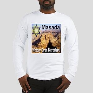 Masada Victory Over Terrorism Long Sleeve T-Shirt