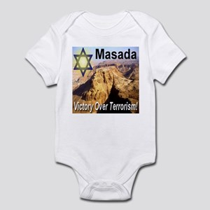 Masada Victory Over Terrorism Infant Bodysuit
