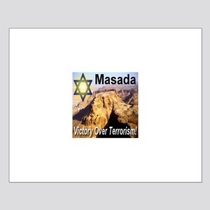 Masada Victory Over Terrorism Small Poster