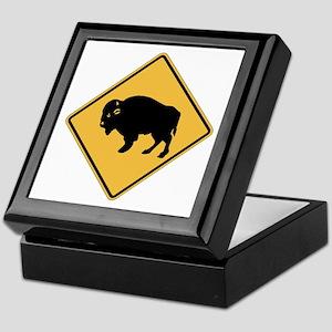Buffalos Roaming (UT), US Keepsake Box