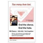 Too many lives lost. Large Poster