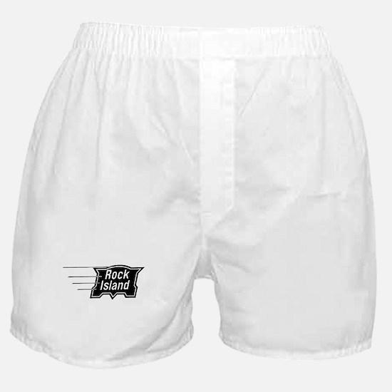 Rock Island Railroad Boxer Shorts