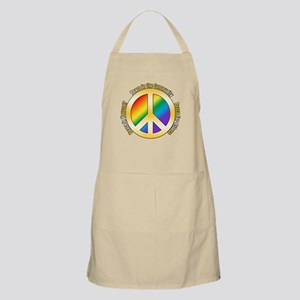 Peace In Yourself BBQ Apron