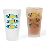 Bluehead Wrasse Drinking Glass