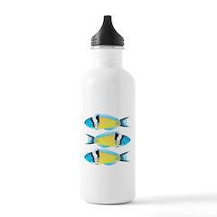 Bluehead Wrasse Water Bottle