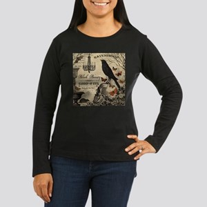 Modern vintage Halloween Long Sleeve T-Shirt