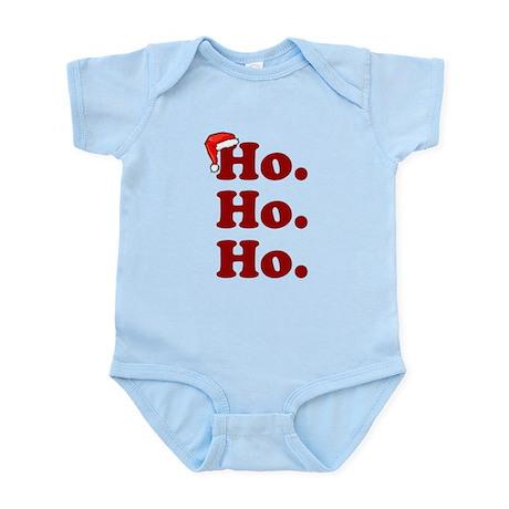 'Ho. Ho. Ho.' Infant Bodysuit