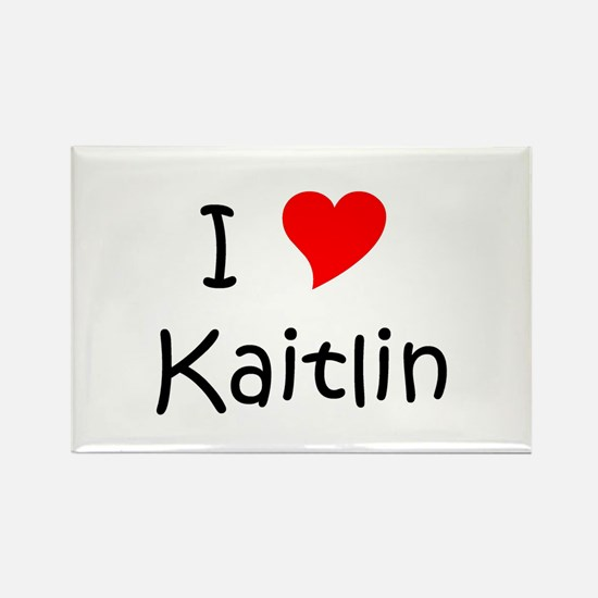 Cute Kaitlin Rectangle Magnet