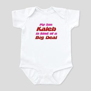 My Son Kaleb - Big Deal Infant Bodysuit