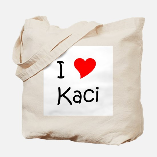 Cute Kaci Tote Bag