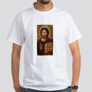 Jesus Christ Pantocrator Christian Icon T-Shirt