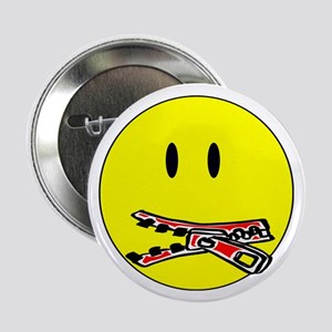 """Zip It! Stop Snitching! 2.25"""" Button (10 pack)"""