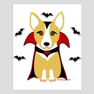 Count Corgi - Vampire Small Poster