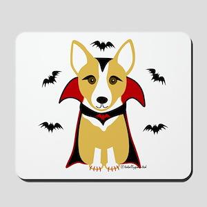 Count Corgi - Vampire Mousepad