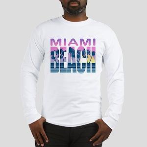 Miami Beach Long Sleeve T-Shirt