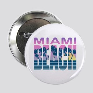 "Miami Beach 2.25"" Button"