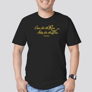 Come For The Rum.. Women's V-Neck T-Shirt