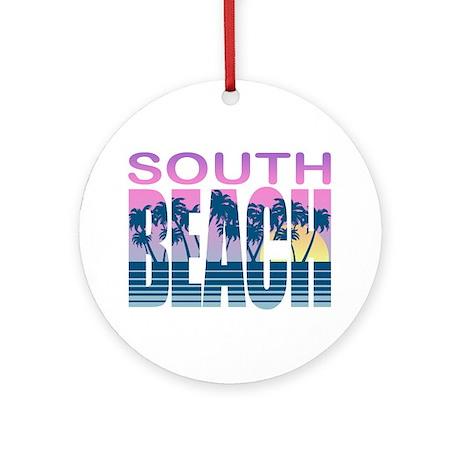 South Beach Ornament (Round)