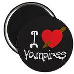 """I Love Vampires 2.25"""" Magnet (10 pack)"""