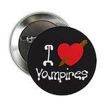 "I Love Vampires 2.25"" Button (10 pack)"