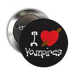 "I Love Vampires 2.25"" Button"