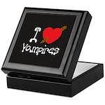 I Love Vampires Keepsake Box