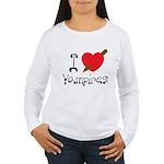 I Love Vampires Women's Long Sleeve T-Shirt