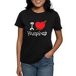 I Love Vampires Women's Dark T-Shirt