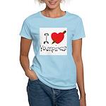I Love Vampires Women's Light T-Shirt
