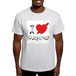 I Love Vampires Light T-Shirt