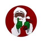 """African Santa Clause Christ 3.5"""" Button (100 pack)"""