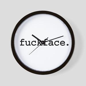 fuckface. Wall Clock