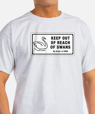 Keep Out of Reach of Swans, Canada T-Shirt