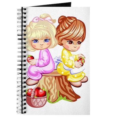 2 Girls Sitting on a Tree Stu Journal