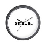 smile. Wall Clock