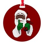 African Santa Clause Ornament