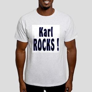 Karl Rocks ! Ash Grey T-Shirt