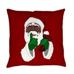African Santa Clause Everyday Pillow