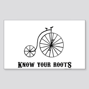Know Your Roots Series Two Rectangle Sticker