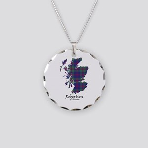 Map-RobertsonStruan Necklace Circle Charm