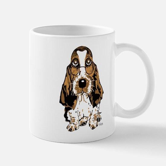 Cute Beagle glasses Mug