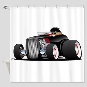 Hi-boy Hot Rod Shower Curtain