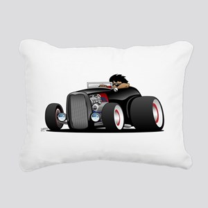 Hi-boy Hot Rod Rectangular Canvas Pillow