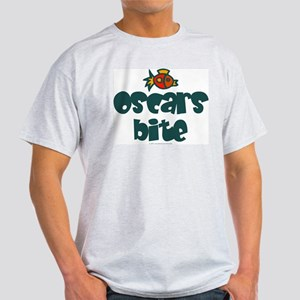 Oscars bite. Ash Grey T-Shirt