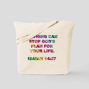 ISAIAH 14:27 Tote Bag