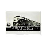 Jersey Central Lines Rectangle Magnet (10 pack)